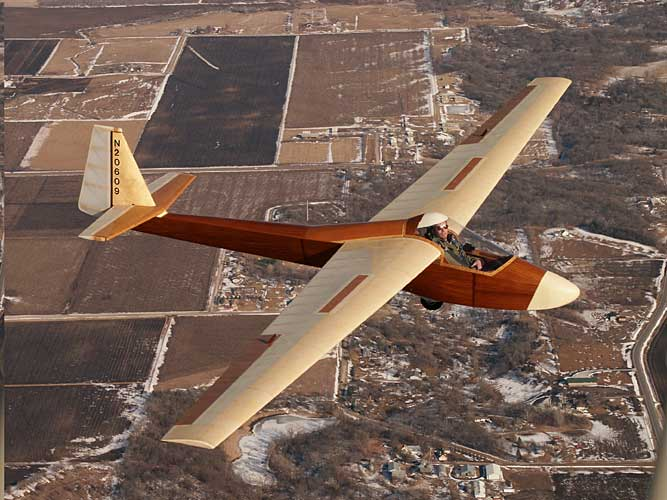 Amazing Aircraft : Woodstock Glider